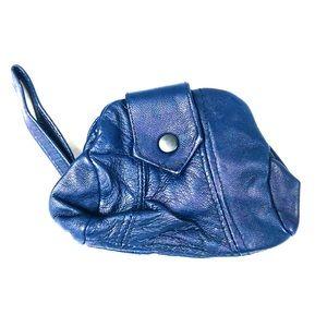 Handbags - Purple leather changepurse